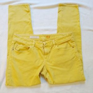 Pilcro and the Letterpress Yellow Jeans 31